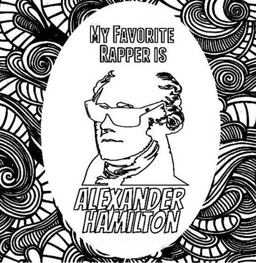 Hamilton Colouring In