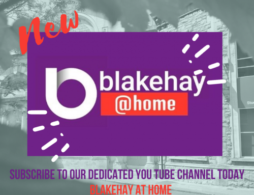 Blakehay@Home New Channel